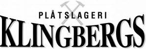 Klingbergs Plåtslageri Logo